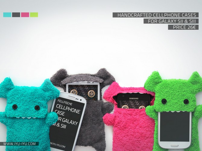 Fellfische Cases For Galaxy S2 &amp; S3