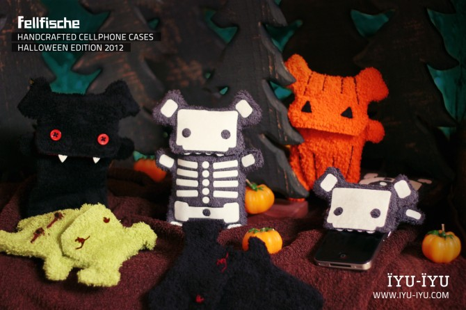 Fellfische Cellphone Cases Halloween Edition
